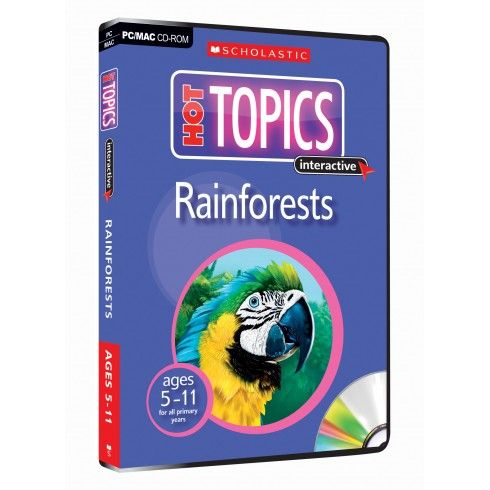 Rainforest CD-Rom (Hot Topics interactive 5-9 ages)