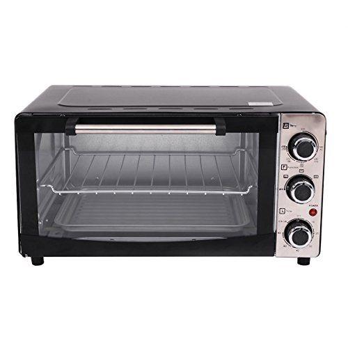 6slice Electric Toaster Oven Broiler Pizza Countertop W Baketray