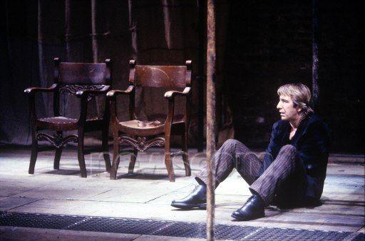 Alan Rickman as Hamlet | 1992 #theater: