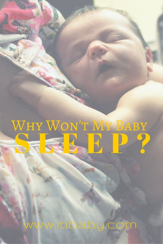 It's an age old question, asked by all mothers past. Why won't my baby sleep? Where is that magical solution that we all crave? Is there a simple solution?
