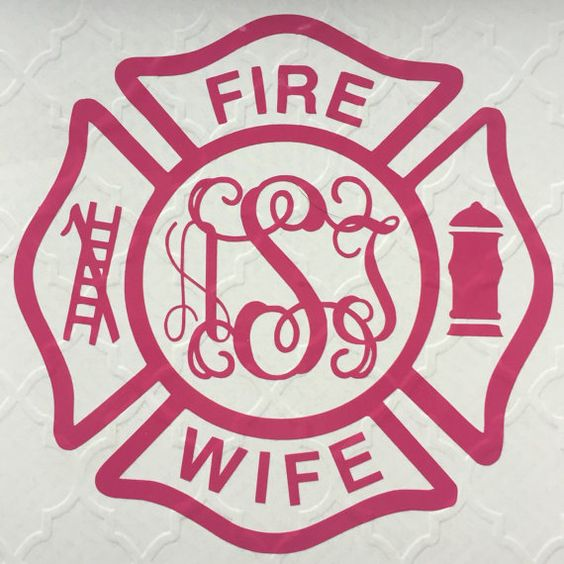 Fire Wife Decal Show your love and support for your ...