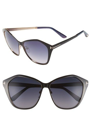 Tom Ford 'Lena' 58mm Sunglasses