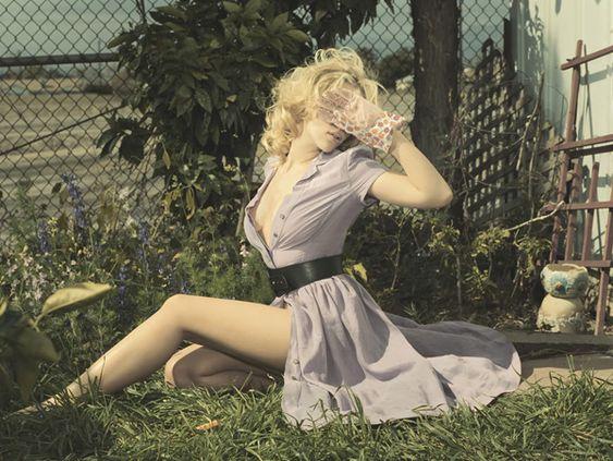 Scarlett Johansson by Sheryl Nields on KAIAK - A webzine that indulge esthetics.
