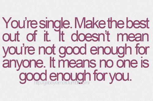 dating not settling