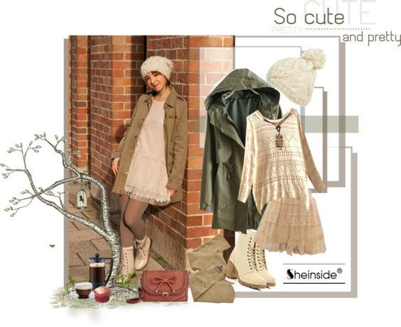 """neutral"" by alba-camus ❤ liked on Polyvore"