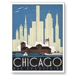 Chicago Has Everything Post Card por vintagegiftmall