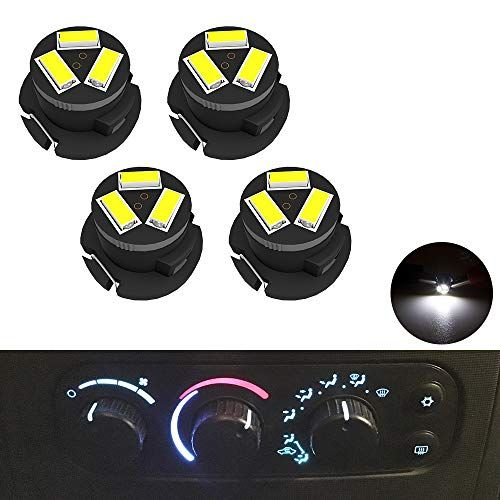 Smd Ac Climate Heater Control Led Light Bulbs Kit Replacement For Dodge Ram 1500 2500 3500 2003 2008 T5 T4 7 Neo Wedge Hvac W Dodge Ram 1500 Dodge Ram Ram 1500