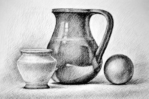 Bodegones A Lapiz Buscar Con Google Still Life Sketch Pencil Drawings Cool Art Drawings