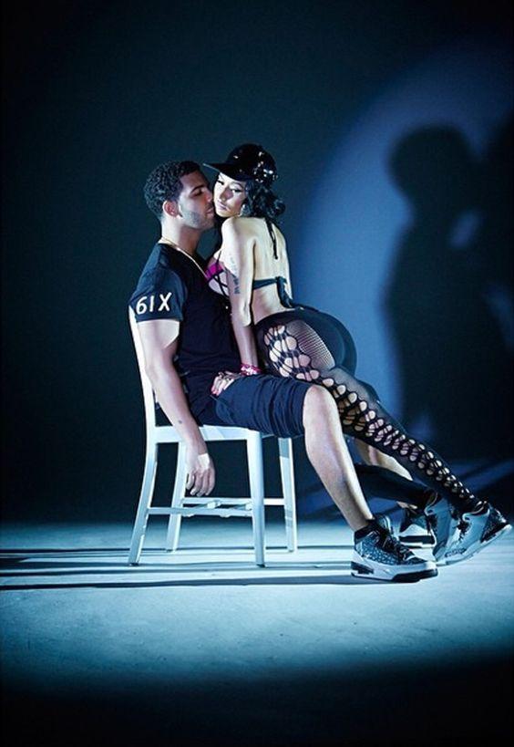Nicki Minaj Drake Wear Jordan Sneakers for Anaconda - EU Kicks Sneaker  Magazine Celebrity Kicks Pinterest ... 94c5b7e20eed
