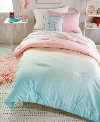 Queen Duvet Set Pink Comforter Sets, Mint Green And Pink Bedding