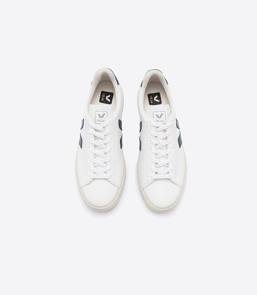 Veja Sneaker Damen Campo Easy Chromefree Leather White