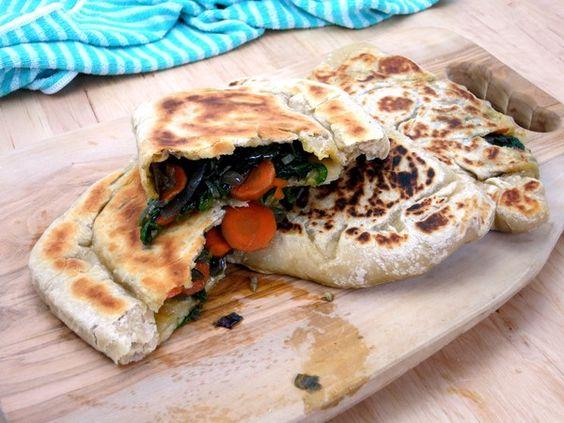 Würziges Spinat Brot