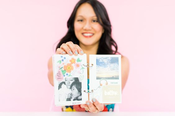 If you're picturing your grandma's dusty scrap book, think again. This DIY modern photo album is all kinds of cool.