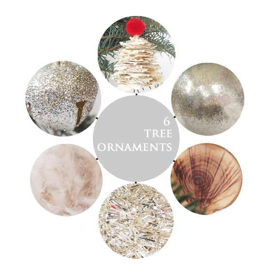 a daily something: DIY | christmas tree ornaments