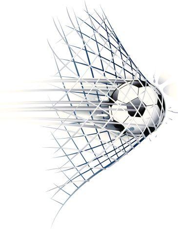 Drawn Of Vector Soccer Ball Goal Illustrations Dibujos De Futbol Fondo De Pantalla Futbol Tatuajes Futboleros