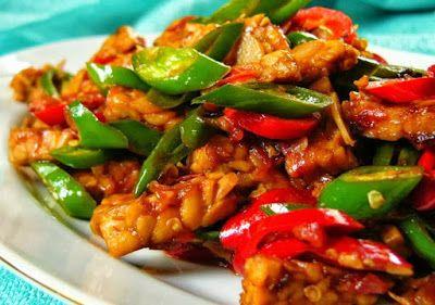 Resep Tempe Kecap Cabe Hijau Sederhana Dan Enak Resep Masakan Resep Masakan Indonesia Resep Tempe