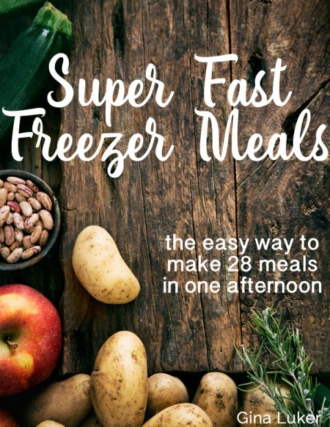 This lady made a month of freezer meals for $200 in four hours. Definitely trying this one!
