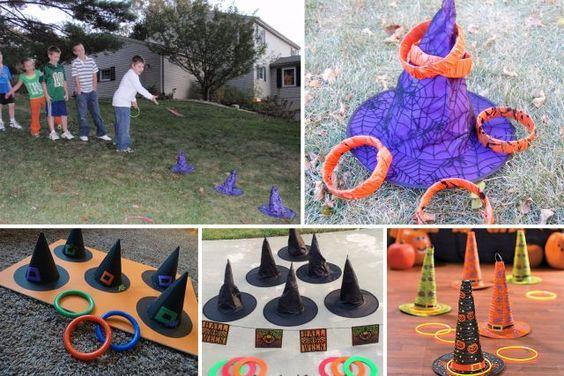 Fete jeux halloween