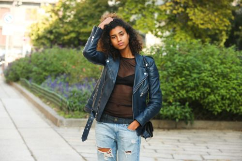 fashion-clue:  www.fashionclue.net| Fashion Tumblr Street Wear...