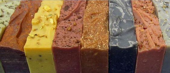 手工皂常用天然色素整理匯總