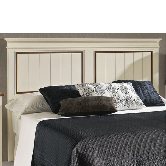 Cabecera de madera para cama de matrimonio o juvenil - Cabeceras de cama de madera ...