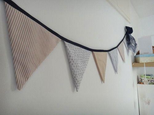 TUTO : Le fanion | Mes tutos - Couture - Déco | Blog Maman Barcelone