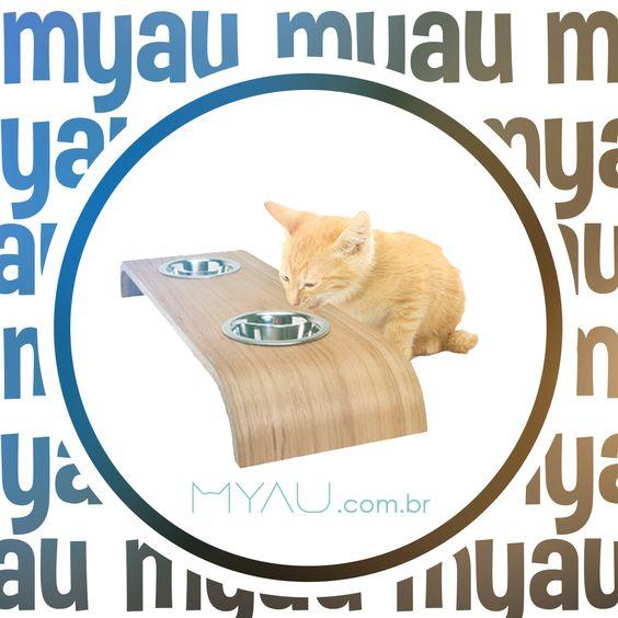 Você já conhece o Myau Eat & Drink?  Projetado com curvas, nosso comedouro propõe um novo caminho estético, trazendo uma nova experiência na decoração.  Conheça: http://ow.ly/sAY4303zWPp  #gatos #euamogato #cats #cat #catsofinstagram #gato #instacat #catstagram #catlover #gatosdeinstagram #catlovers #meow #catoftheday #instacats #ilovemycat #lovecats #amogatos