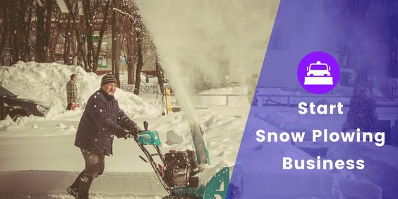 start a snow plowing business