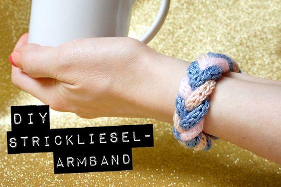 Diy strickliesel armband strickliesel und strickgabel pinterest sprache - Strickliesel selber machen ...
