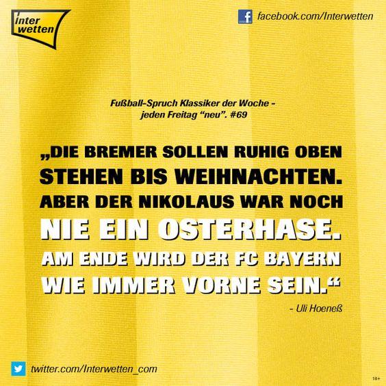"""fußball-spruch klassiker der woche - jeden freitag """"neu"""". #69"""