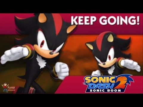 Shadow Run Special Event Sonic Dash 2 Sonic Boom Walkthrough