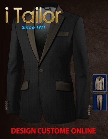 Design Custom Shirt 3D $19.95 anzug mit stehkragen Click http://itailor.de/suit-product/anzug-mit-stehkragen-online-shop_it48560-1.html
