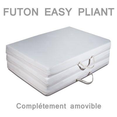Matelas futon easy pliant 80x200 bureau pinterest futons et mousse - Matelas mousse 80x200 ...