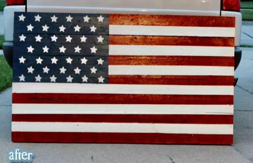 would love an American flag for our yard!