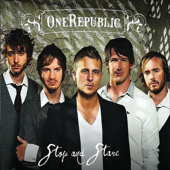 OneRepublic – Stop and Stare (single cover art)