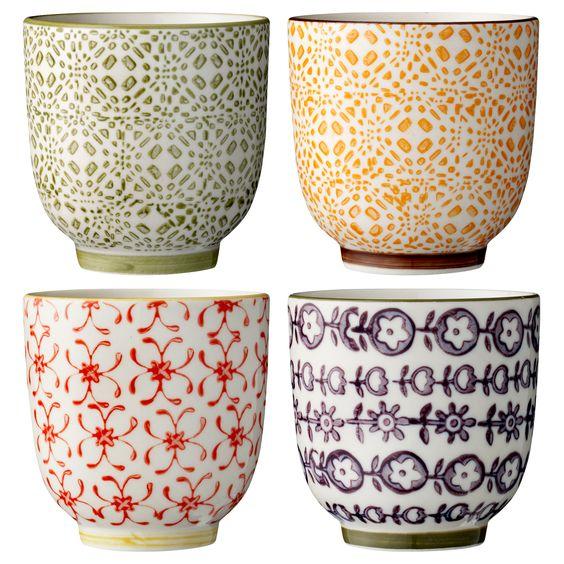 mugs from Bloomingville.