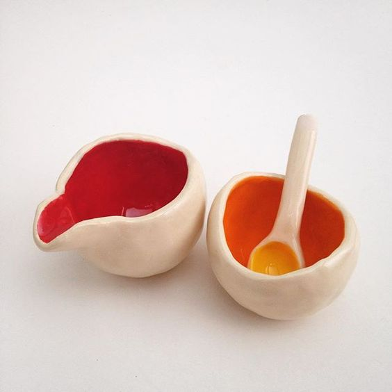 Pinch pots.  by slashofblue