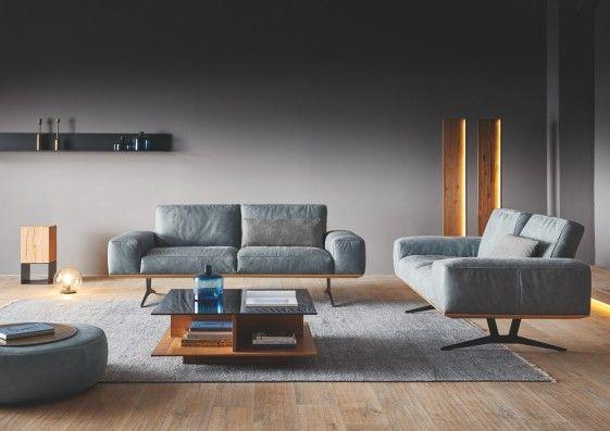 Canape 3 Places Design En Cuir Ou Tissu Honnore Pm Dossiers