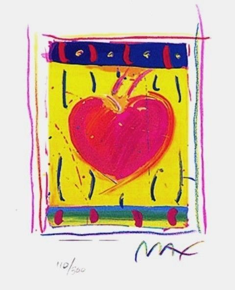 Heart Series VI, Ltd Ed Lithograph