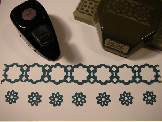 Inking It Up With Cathy: Stampin' Up!'s Lace Ribbon Border Punch