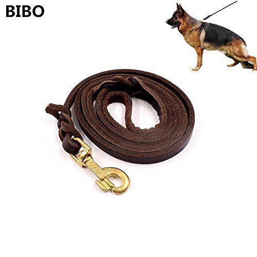 Bibo 5 6 Ft Gentle Leader Best Walking Dog Leather Training Leash