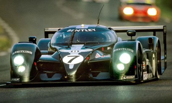 Bentley return @ 24 Hours of Le Mans - bad boys are back