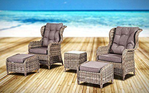 Simple PolyRattan Sitzgruppe neigbaren R ckenlehnen Tisch aus Akazienholz Gartenm bel Gartenset Sitzgarnitur Rattan Jetzt bestellen