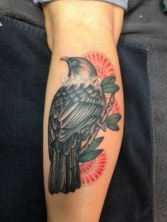 Tatuagens no Antebraço |  pássaro
