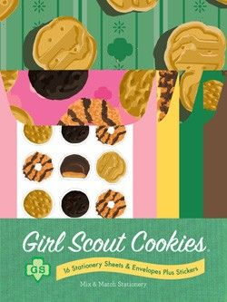 Girl Scout Cookie mix n match stationary by Chronicle Books: Girl Scout Cookies, Gs Cookie, Gifts For Girls, Cookie Box, 95 Girlscoutswag, Cookies Mix