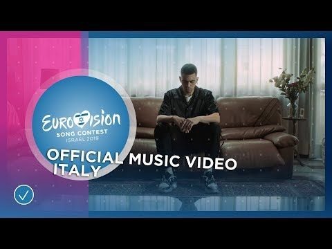 Mahmood Soldi Italy Official Music Video Eurovision 2019 Youtube Music Videos Eurovision Song Contest For You Song