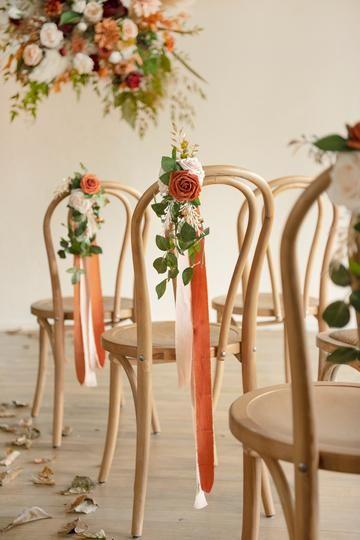 Astonishing Chair Decor to Beautifully Style up Your Wedding, 72ac75e484d85eaf1da73cc7832a8aaa