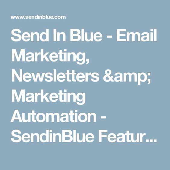 send in blue