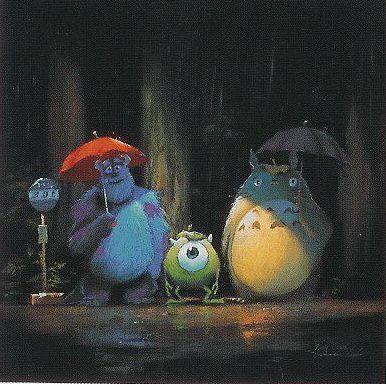 pixar ジブリ