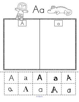 alphabet sort upper and lower case with varying fonts fonts cases and printables. Black Bedroom Furniture Sets. Home Design Ideas